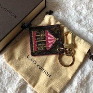 Louis Vuitton Bag Charm Key Chain